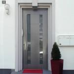 Die Biffar Haustür aus Aluminium: gute Wärmedämmung inklusive