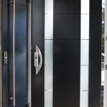 Biffar Aluminium-Haustür AX06 in Türblattbauweise